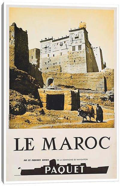 Le Maroc (Morocco) I Canvas Art Print