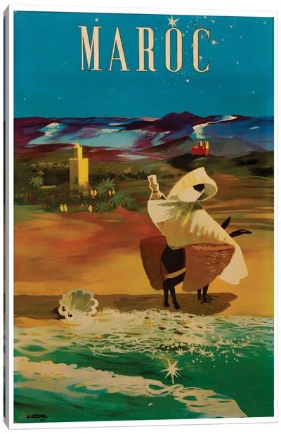 Le Maroc (Morocco) II Canvas Art Print