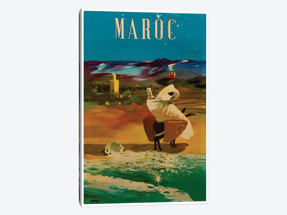 Le Maroc (Morocco) II by Unknown Artist 1-piece Art Print