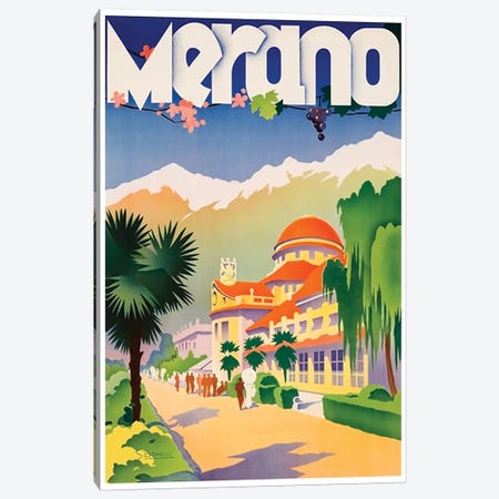 Merano, Italy Canvas Print #LIV196} by Unknown Artist Canvas Print