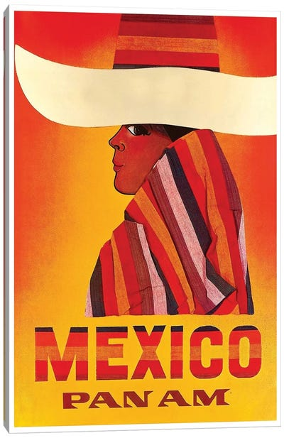 Mexico - Pan American I Canvas Art Print