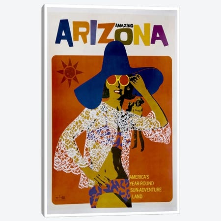 Amazing Arizona Canvas Print #LIV19} Canvas Art Print