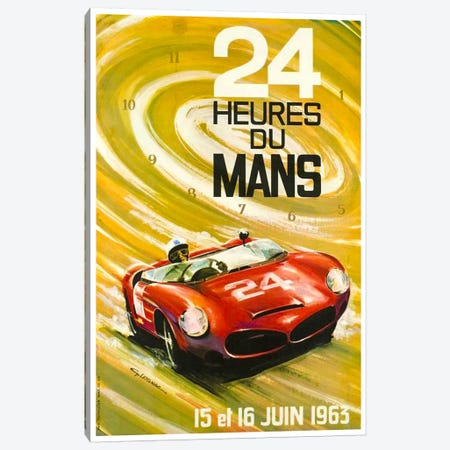 24 Heures du Mans I Canvas Print #LIV1} by Unknown Artist Canvas Art Print
