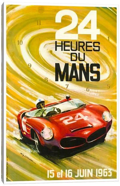 24 Heures du Mans I Canvas Art Print