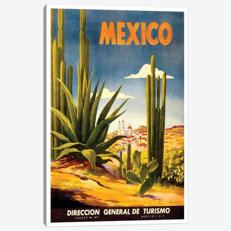 Mexico II Canvas Print #LIV201} by Unknown Artist Canvas Artwork