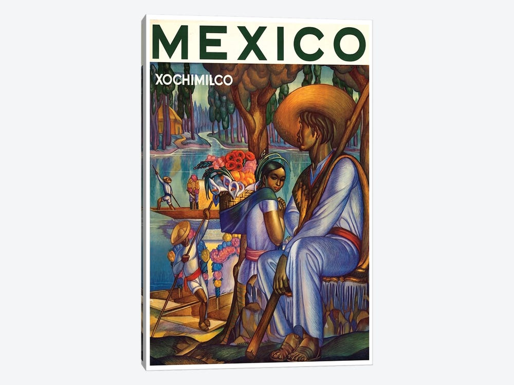 Mexico, Xochimilco by Unknown Artist 1-piece Art Print