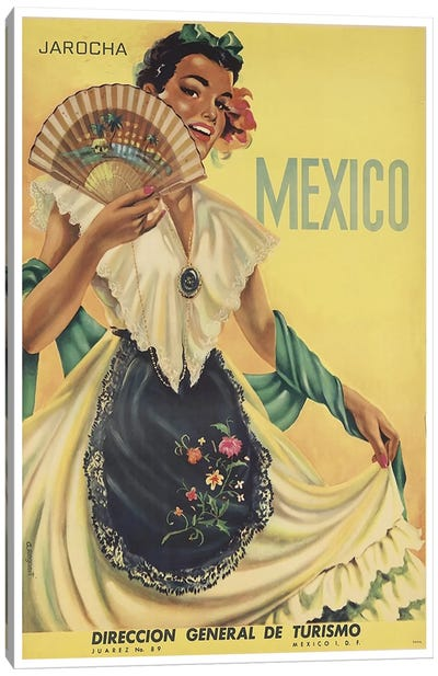 Mexico: Tourism II Canvas Art Print