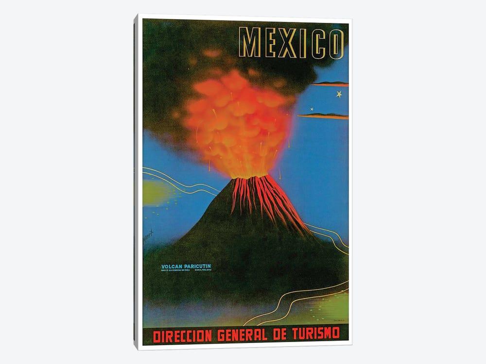 Mexico: Volcan Paricutin by Unknown Artist 1-piece Art Print