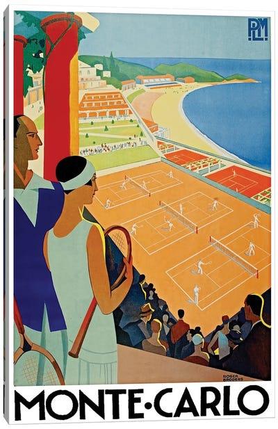 Monte Carlo Canvas Art Print