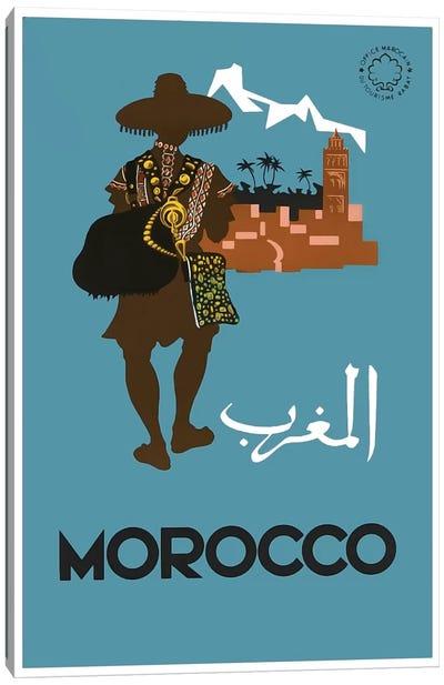 Morocco: Tourism Canvas Art Print