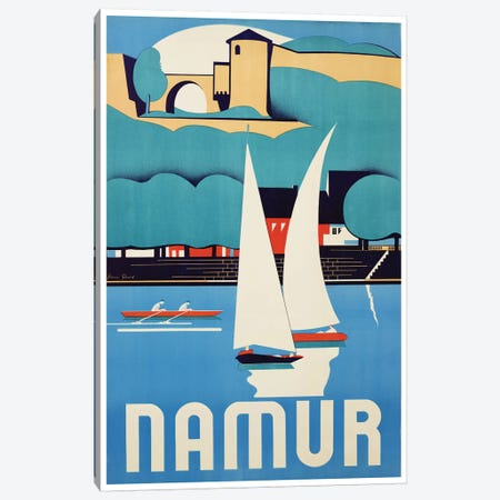 Namur, Belgium Canvas Print #LIV218} by Unknown Artist Canvas Print
