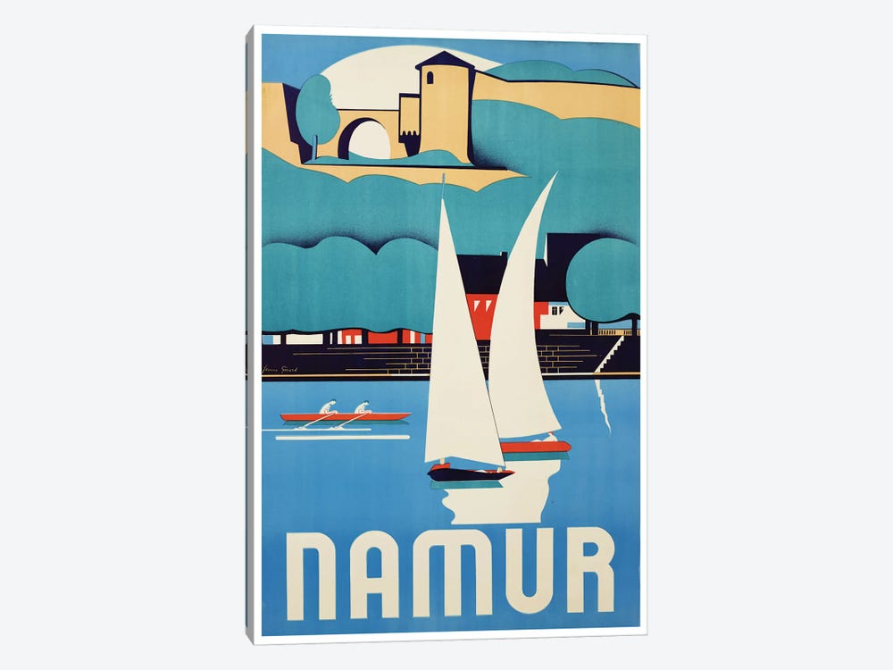 Namur, Belgium by Unknown Artist 1-piece Art Print