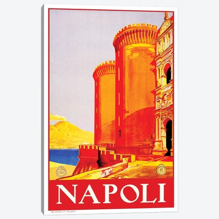 Napoli Canvas Print #LIV219} by Unknown Artist Canvas Art Print