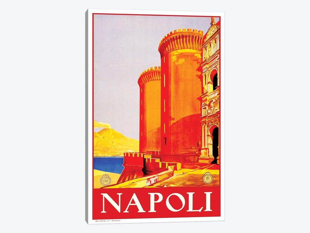 Napoli by Unknown Artist 1-piece Canvas Art