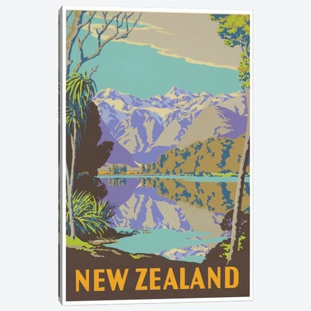 New Zealand II Canvas Print #LIV235} by Unknown Artist Canvas Wall Art