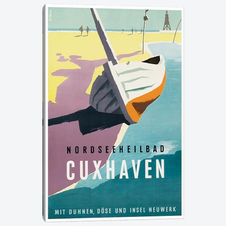 Nordseeheilbad, Cuxhaven: Germany Canvas Print #LIV240} by Unknown Artist Canvas Wall Art