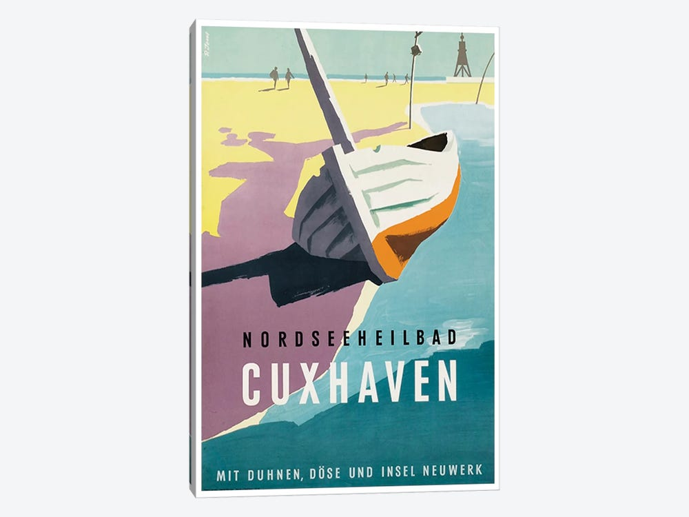 Nordseeheilbad, Cuxhaven: Germany by Unknown Artist 1-piece Canvas Art