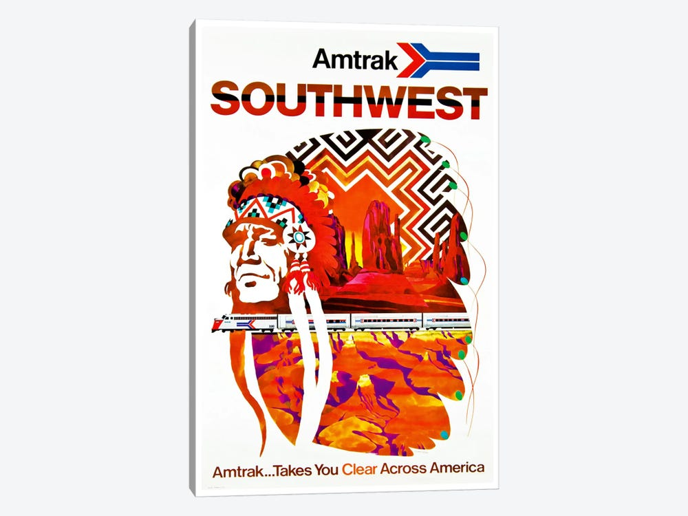 Amtrak Southwest 1-piece Art Print