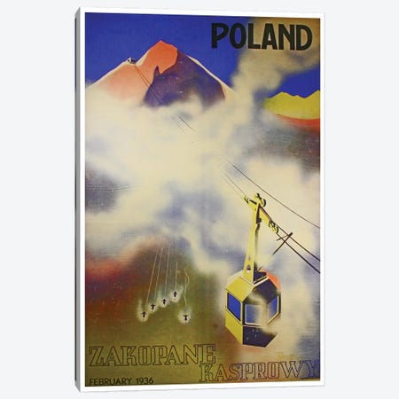 Poland, Zakopane Kasprowy Canvas Print #LIV263} by Unknown Artist Canvas Art