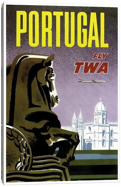 Portugal - Fly TWA Canvas Print #LIV266