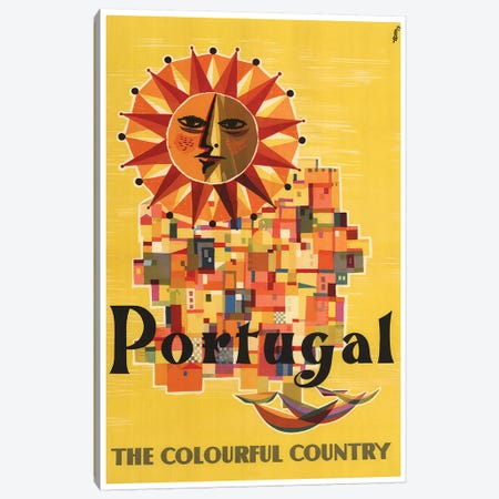 Portugal: The Colorful Country Canvas Print #LIV267} Canvas Print