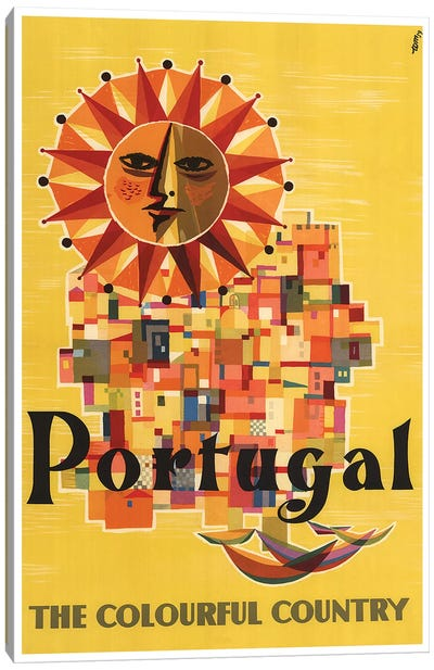 Portugal: The Colorful Country Canvas Art Print