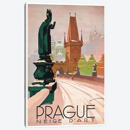 Prague: Neige d'Art Canvas Print #LIV268} by Unknown Artist Canvas Artwork
