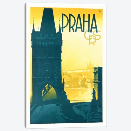 Praha (Prague) Canvas Print #LIV269} by Unknown Artist Canvas Artwork