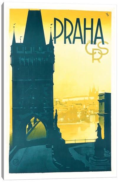 Praha (Prague) Canvas Print #LIV269