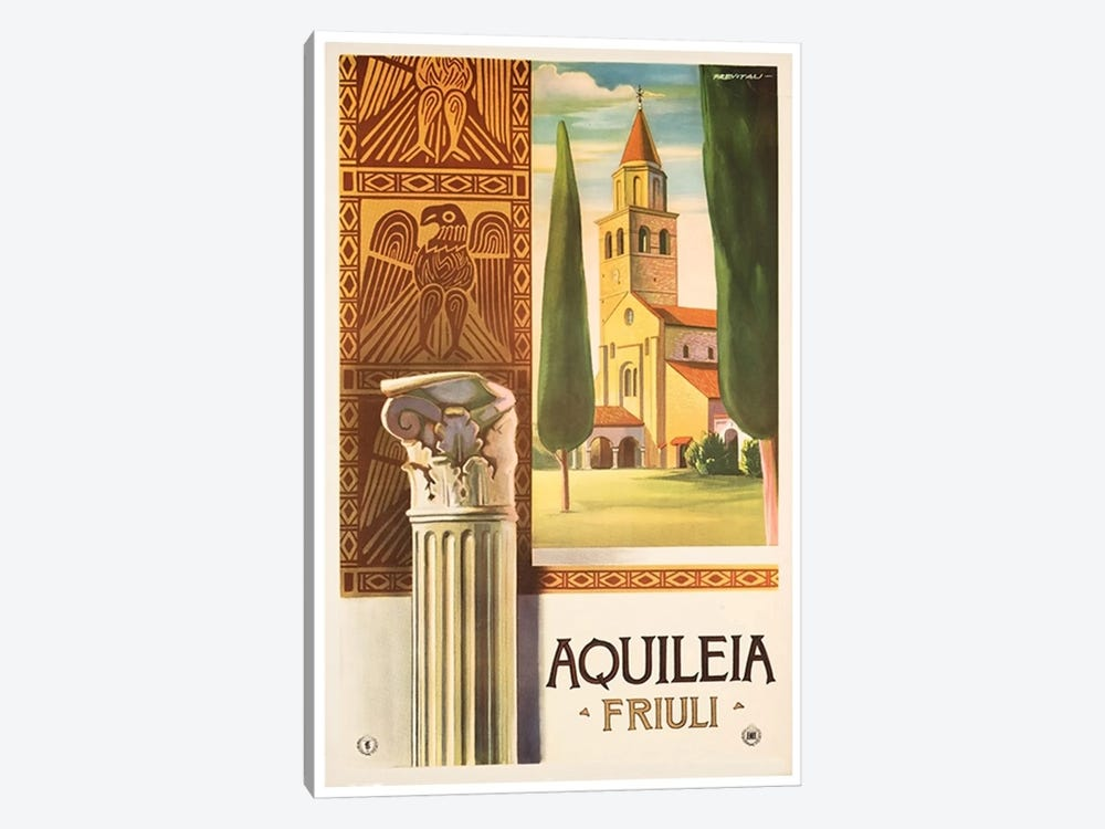 Aquileia, Friuli - Italy by Unknown Artist 1-piece Canvas Wall Art