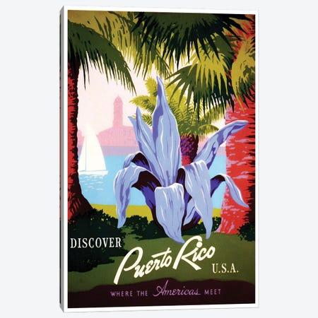 Puerto Rico: Where The Americas Meet I Canvas Print #LIV270} by Unknown Artist Canvas Print