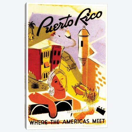 Puerto Rico: Where The Americas Meet II Canvas Print #LIV271} by Unknown Artist Art Print