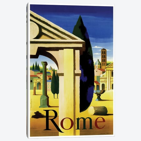 Rome Canvas Print #LIV277} by Unknown Artist Canvas Wall Art