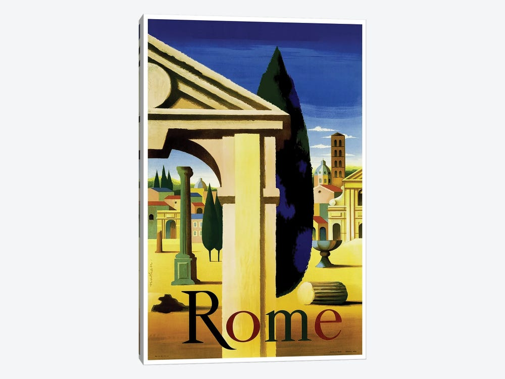 Rome 1-piece Canvas Art