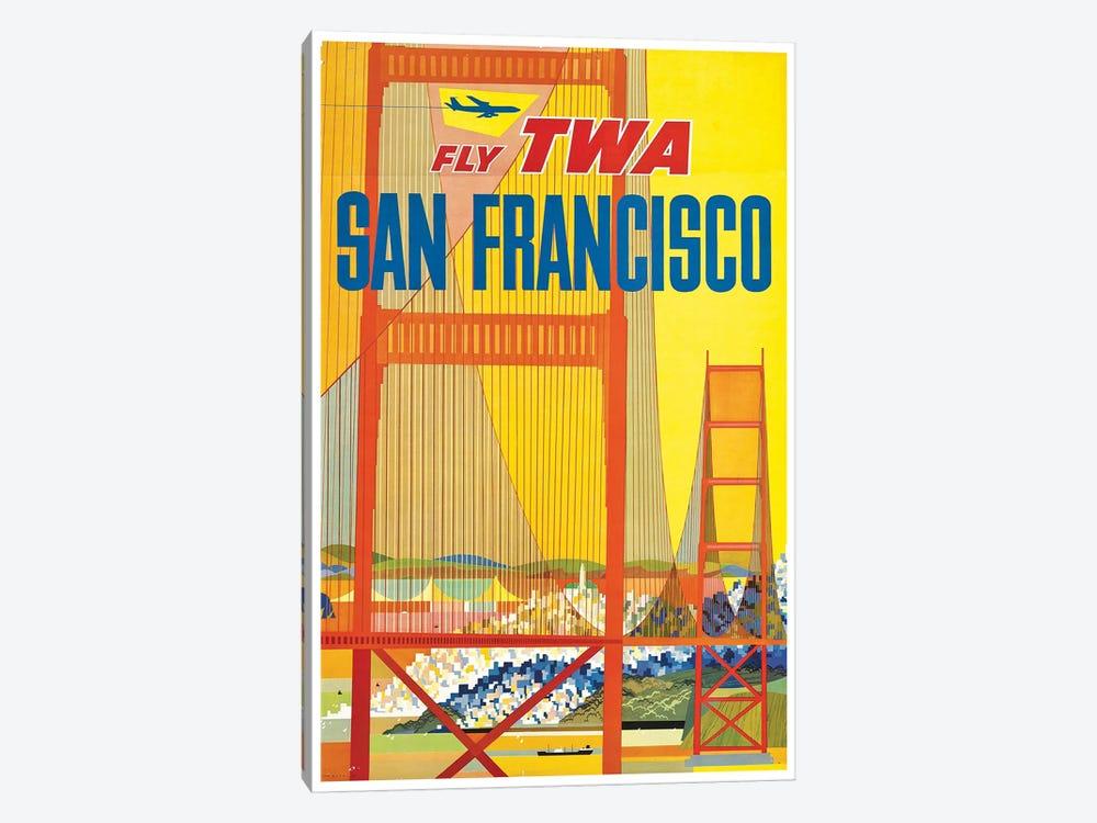 San Francisco - Fly TWA I by Unknown Artist 1-piece Art Print