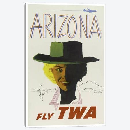 Arizona - Fly TWA II Canvas Print #LIV28} by Unknown Artist Canvas Art