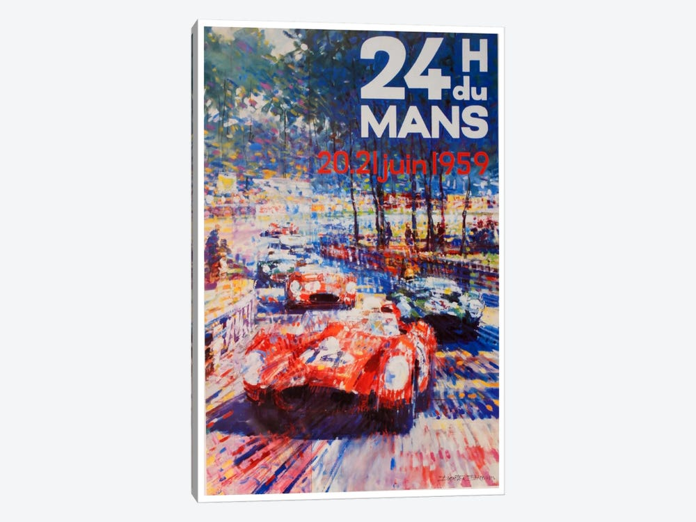 24 Heures du Mans II by Unknown Artist 1-piece Canvas Art