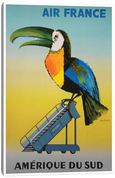 South America - Air France Canvas Print #LIV311