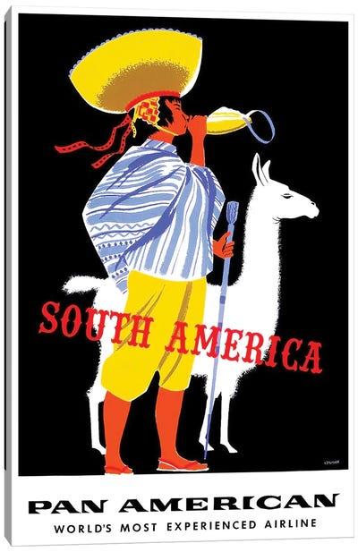 South America - Pan American Canvas Print #LIV314