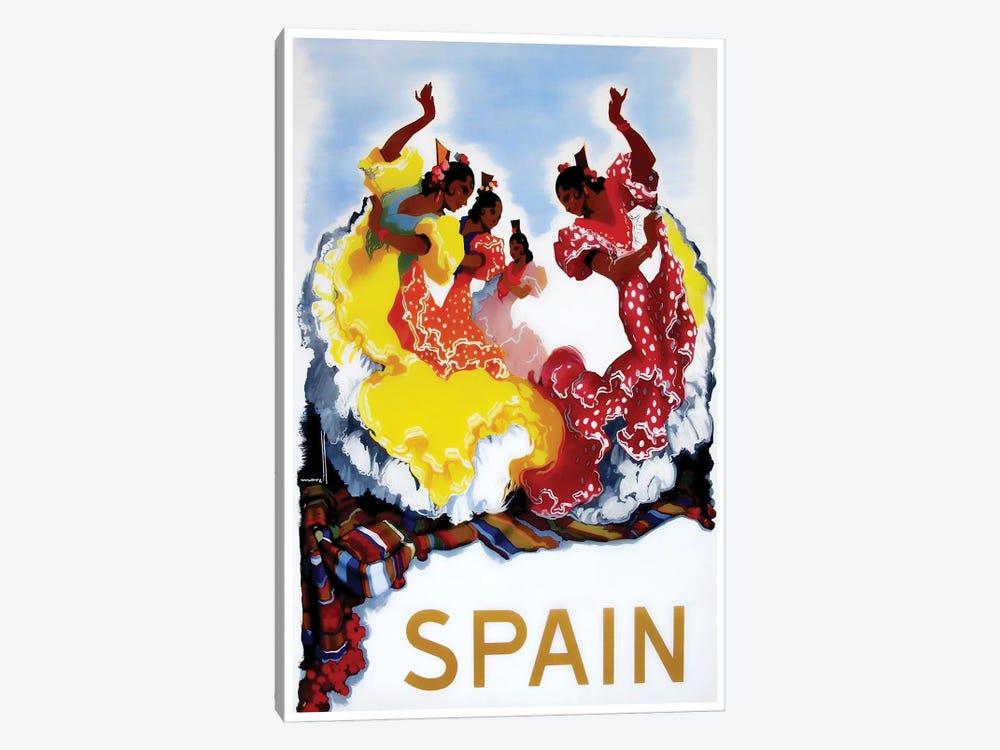 Spain I by Unknown Artist 1-piece Canvas Art