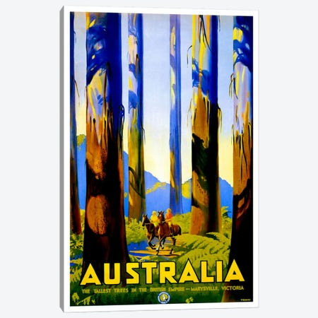 Australia I Canvas Print #LIV31} by Unknown Artist Canvas Art Print
