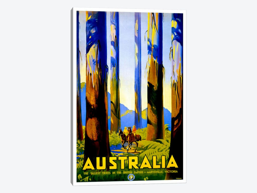 Australia I 1-piece Canvas Wall Art