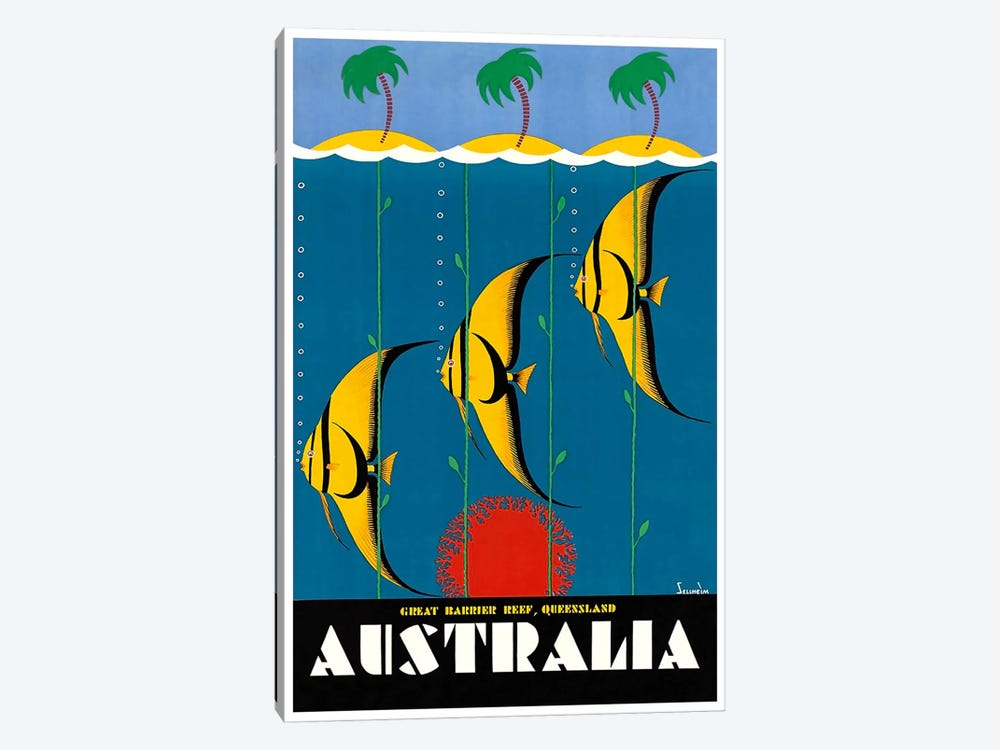 Australia II 1-piece Canvas Art Print