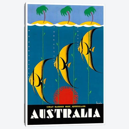 Australia II Canvas Print #LIV32} by Unknown Artist Canvas Print