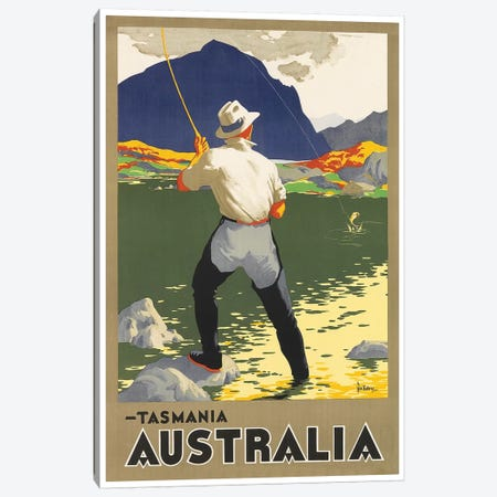 Tasmania, Australia Canvas Print #LIV330} Canvas Artwork