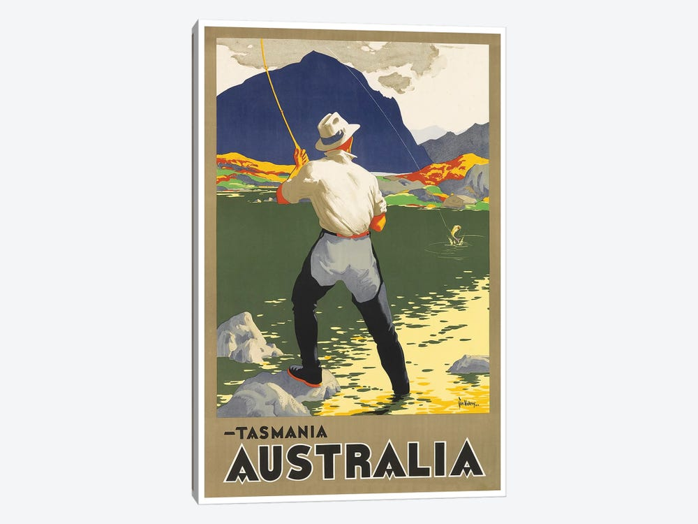 Tasmania, Australia by Unknown Artist 1-piece Canvas Art