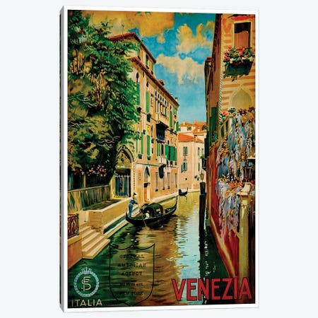 Venezia I Canvas Print #LIV338} Canvas Wall Art