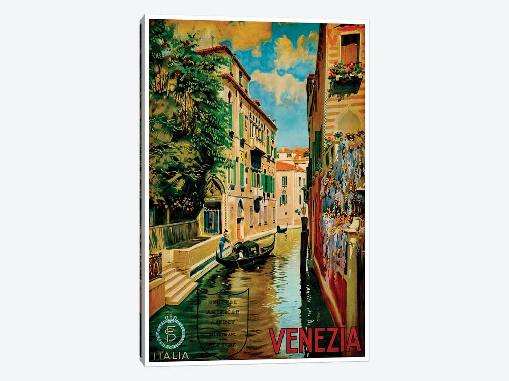 Venezia I by Unknown Artist 1-piece Canvas Art
