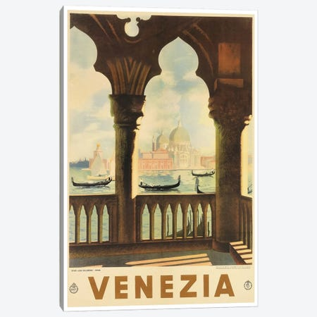 Venezia II Canvas Print #LIV339} Canvas Art