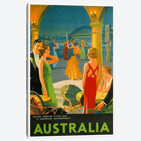 Australia III Canvas Print #LIV33} by Unknown Artist Canvas Art Print